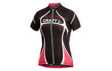 Craft Performance Bike Tour Tee shirt femme rouge/noir